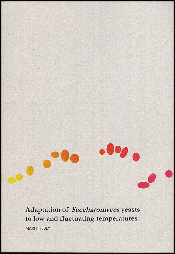 Adaptation of Saccharomyces Yeasts to Low and Fluctuating Temperatures, book cover