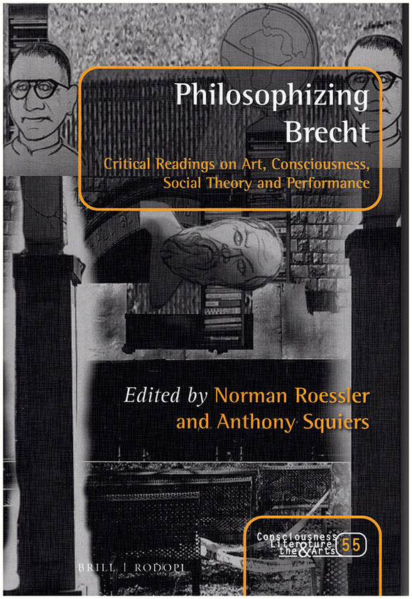 Philosophizing Brecht, book cover