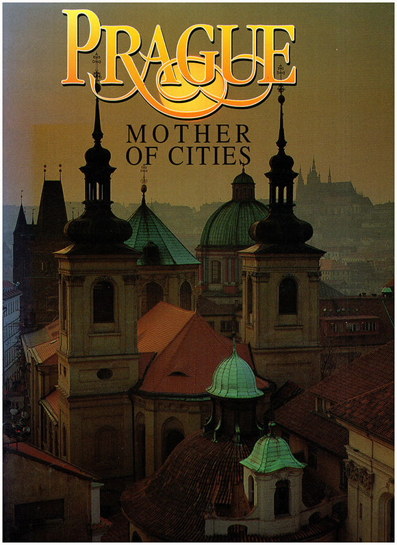 Prague Mother of Cities, book cover
