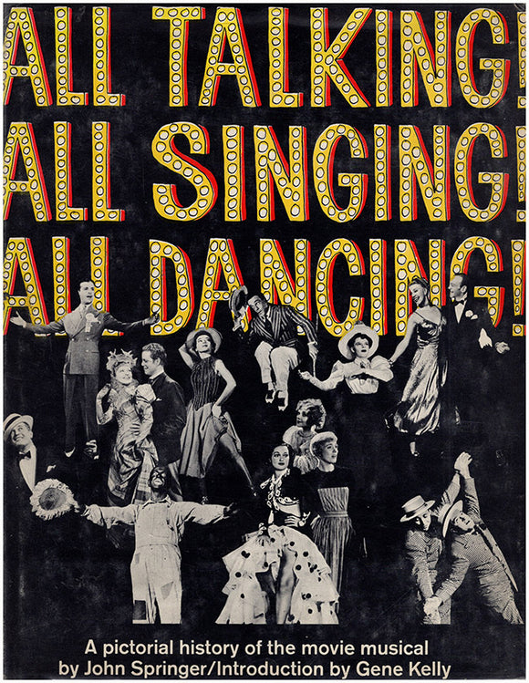 All Talking All Singing All Dancing, book cover