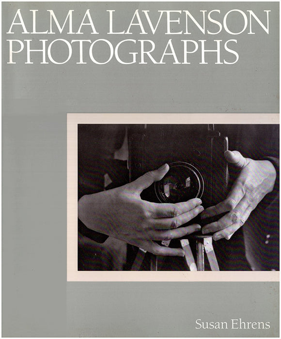 Alma Lavenson: Photographs, book cover