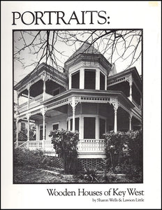 Wooden Houses of Key West, book cover
