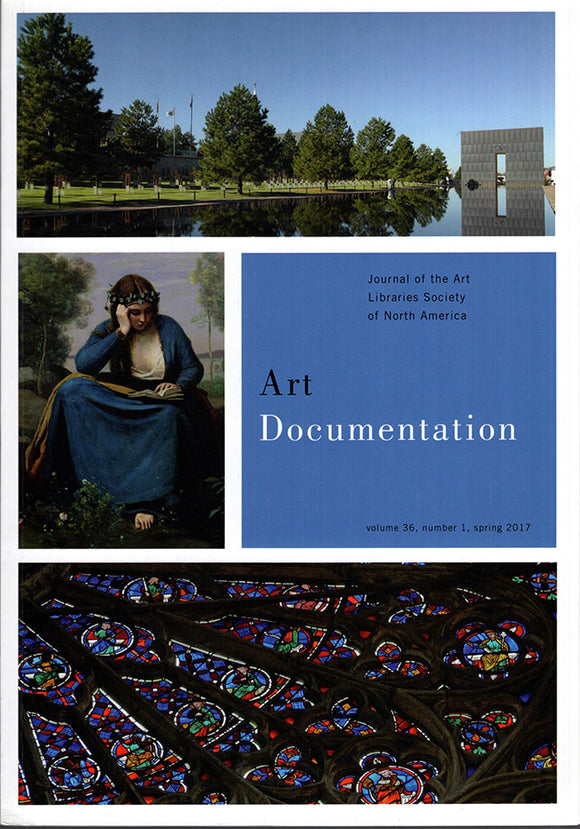 Art Documentation (Vol 36, No 1, Spring 2017), book cover