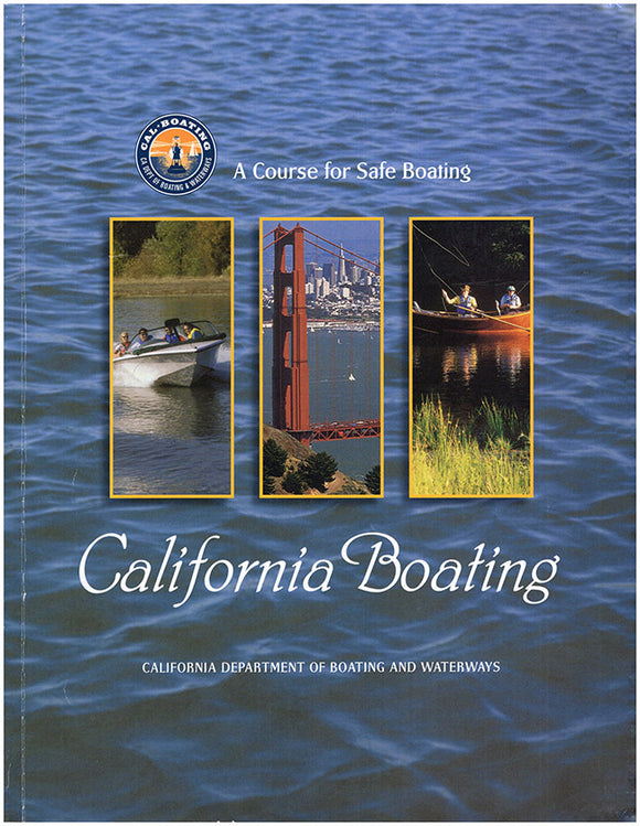 California Boating: A Course for Safe Boating. Book Cover