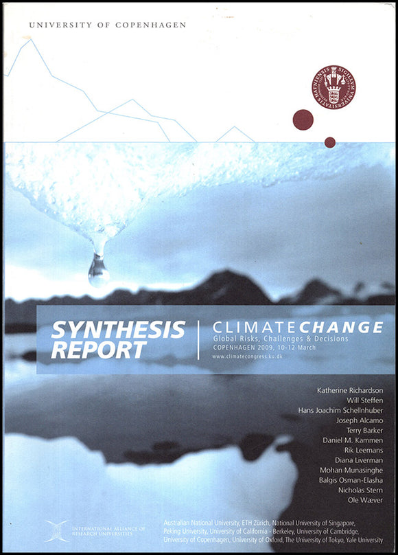 Synthesis Report: Climate Change, book cover