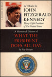 In Tribute To John Fitzgerald Kennedy, book cover