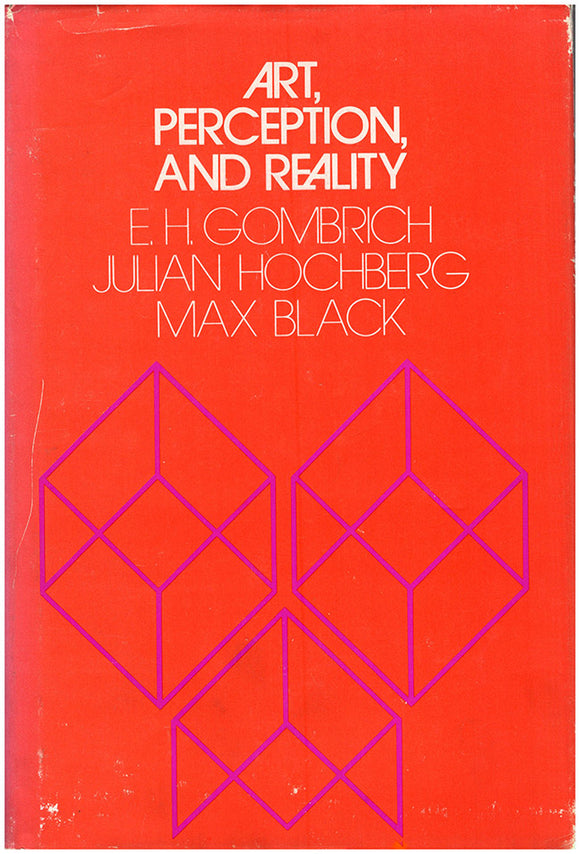 Art, Perception, and Reality (Thalheimer Lectures, 1970), book cover