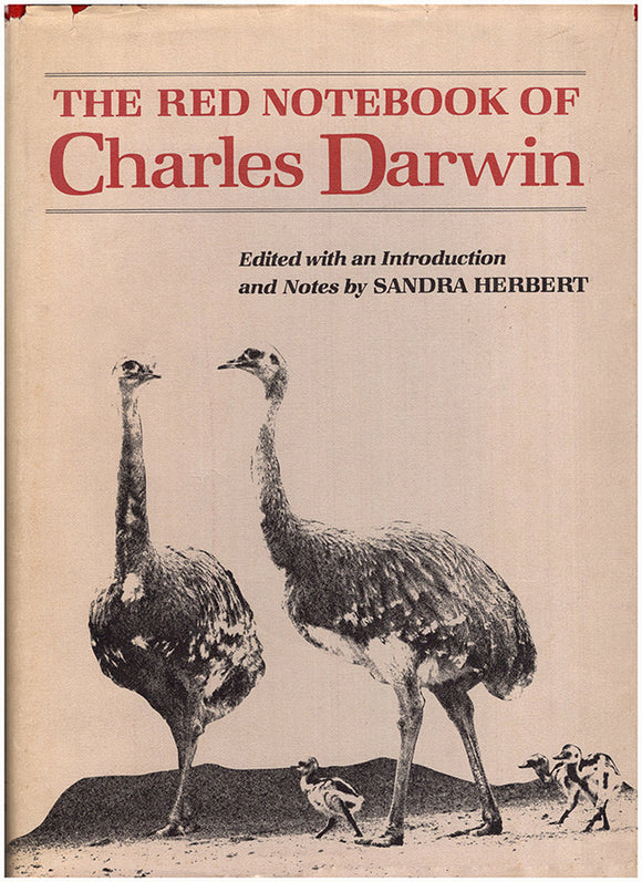 The Red Notebook of Charles Darwin, book cover