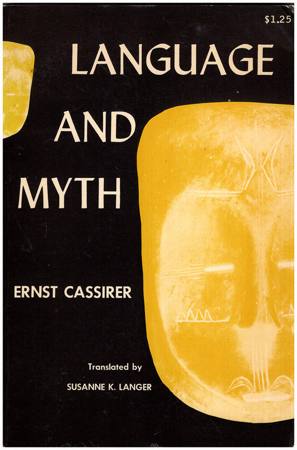 Language and Myth, book cover