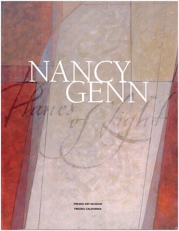 Nancy Genn: Planes of Light. Exhibition Catalog Image