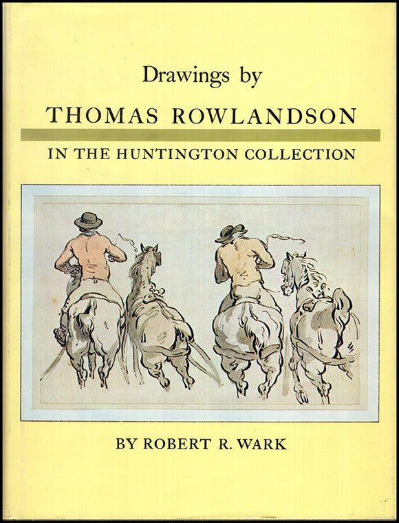Drawings by Thomas Rowlandson in the Huntington Collection, book cover