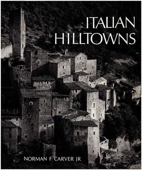 Italian Hilltowns, book cover