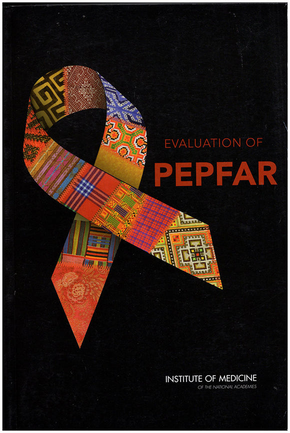 Evaluation of PEPFAR, book cover