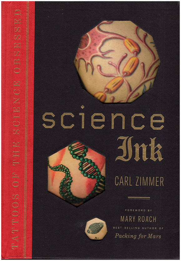 Science Ink: Tattoos of the Science Obsessed, Book cover