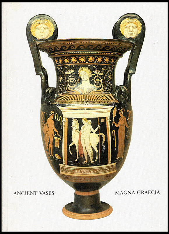 Ancient Vases from Magna Graecia (May 1-May 30, 1986), book cover