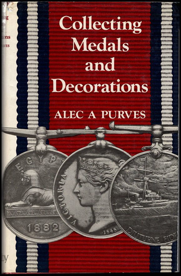 Collecting Medals and Decorations. Book Cover