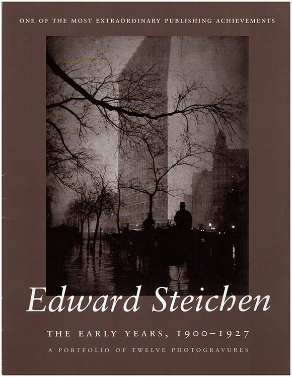 Edward Steichen: The Early Years, 1900-1927 [Promotional Brochure].