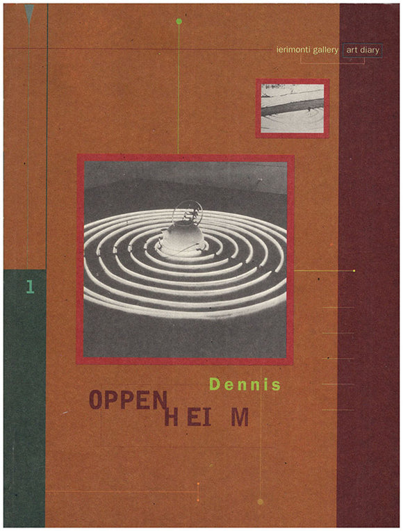 Dennis Oppenheim (ierimonti Gallery, Art Diary, 1), book cover