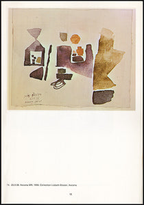 Julius Bissier 1893-1965 A Retrospective Exhibition, color plate