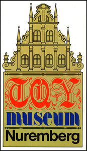 City of Nuremberg Toy Museum. Book Cover.