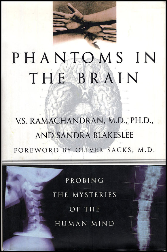 Phantoms in the Brain: Probing the Mysteries of the Human Mind. Book Cover.