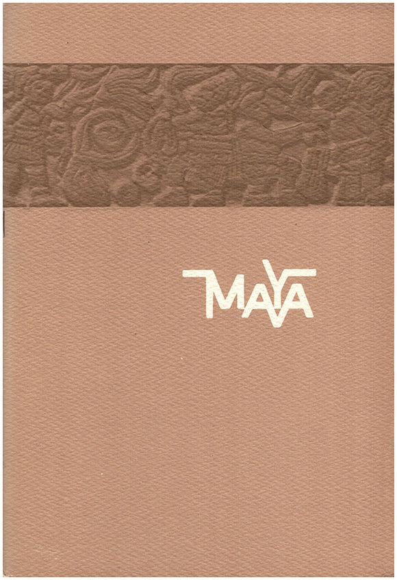 Art of the Maya Civilization. Book Cover.