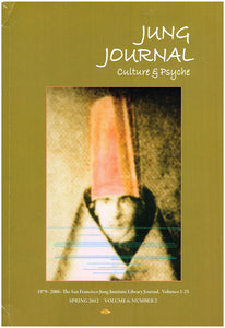 Jung Journal Culture & Psyche (Spring 2012, Vol 6, No. 2). Book Cover.