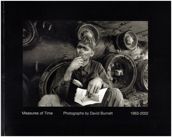 Measures of Time: Photographs by David Burnett 1963-2002. Book Cover.