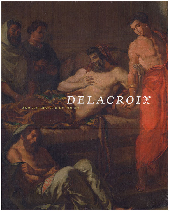 Delacroix and The Matter Of Finish, Book Cover.