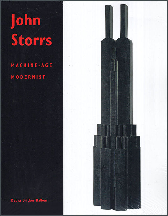 Book Cover. John Storrs: Machine-Age Modernist.