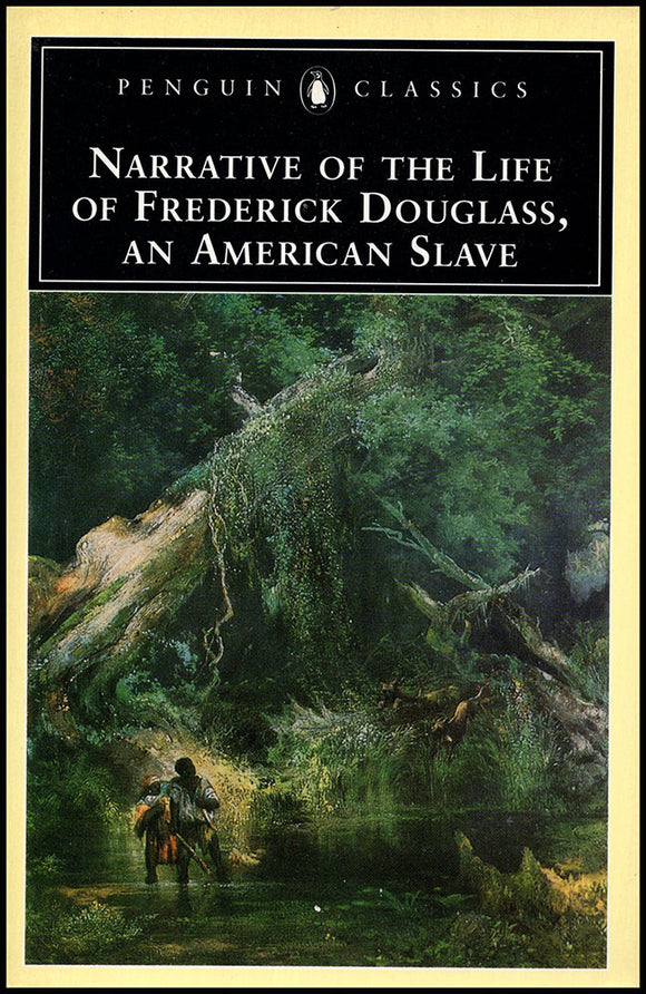 Book Cover. Narrative of the Life of Frederick Douglass, an American Slave (Penguin Classics).