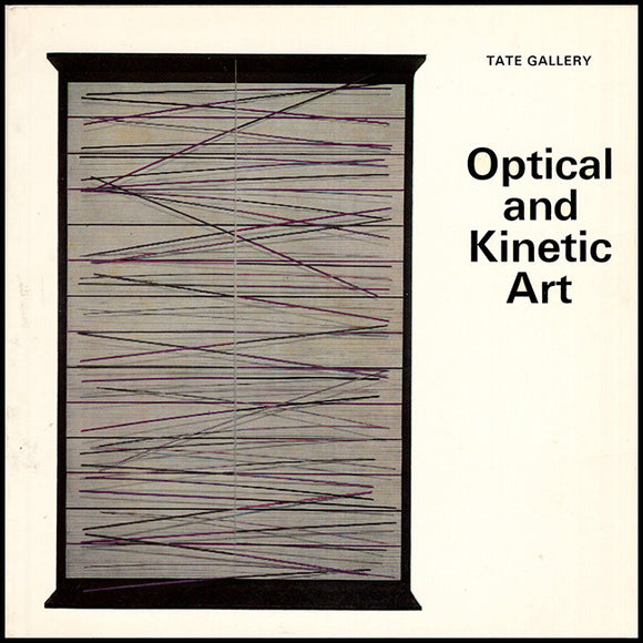 Book Cover. Optical and Kinetic Art (Tate Gallery, Little Book Series).