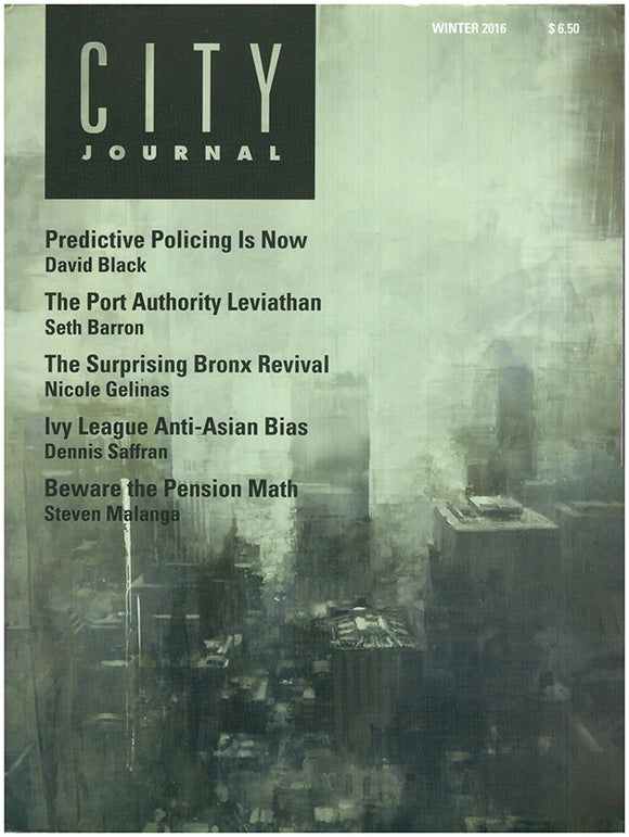 Book Cover: City Journal (Winter 2016, Volume 26, Number 1).