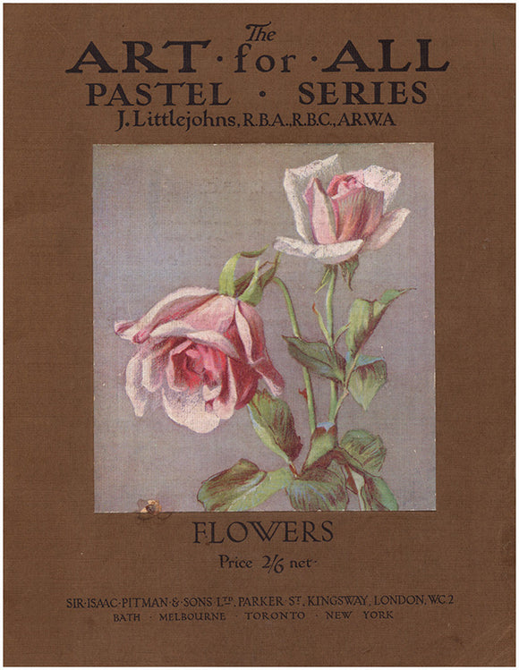 Book Cover: The Art for All Pastel Series: Flowers