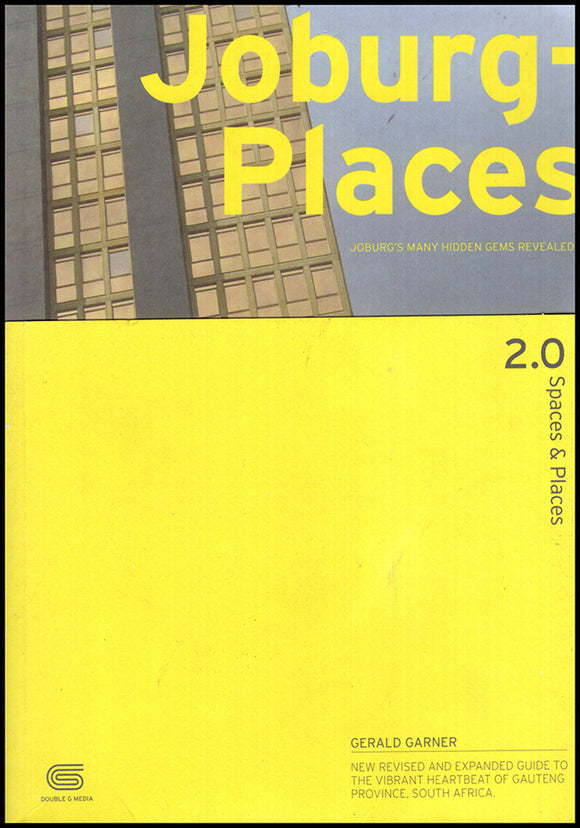 Book Cover. Joburg-Places 2.0 (Spaces and Places)