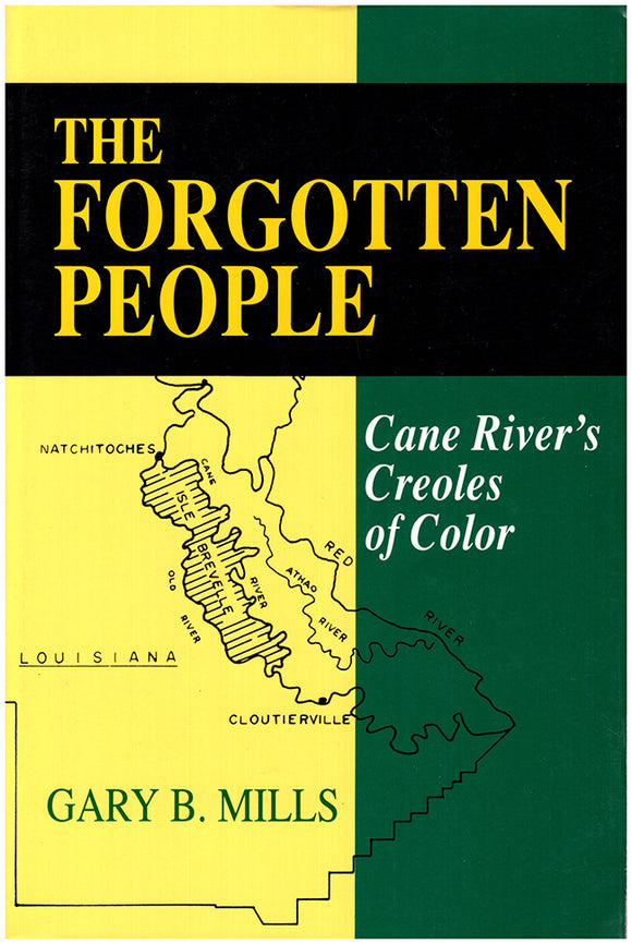 Book Cover. The Forgotten People: Cane River's Creoles of Color.