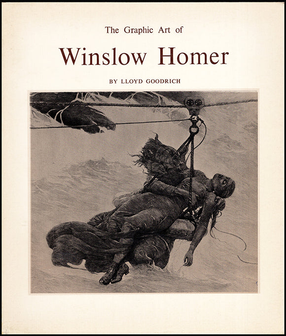 Book Cover. The Graphic Art of Winslow Homer.