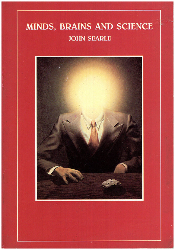 Book Cover. Minds, Brains and Science (1984 Reith Lectures)