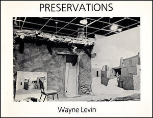 Book Cover. Wayne Levin: Preservations.