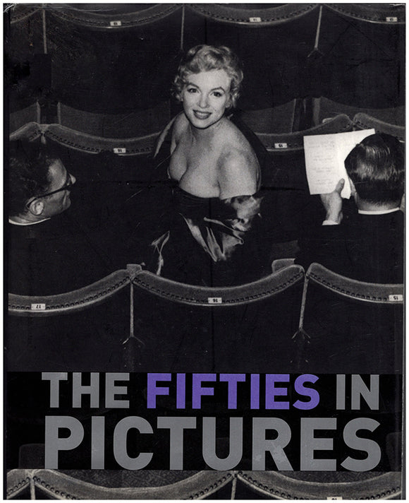 Book Cover. The Fifties in Pictures.