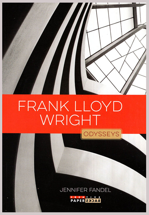 Book Cover. Frank Lloyd Wright (Odysseys in Artistry).