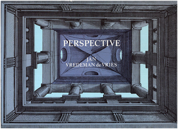 Book Cover. Perspective by Jan Vredeman de Vries.
