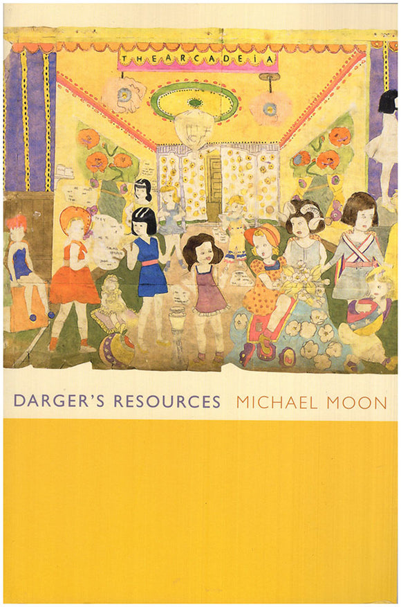 Book Cover. Darger's Resources by Michael Moon.