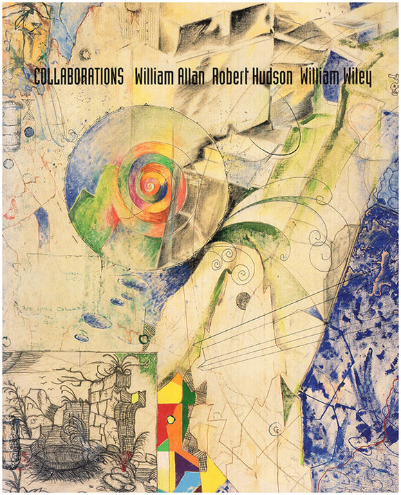 Book Cover. Collaborations: William Allan, Robert Hudson, William Wiley.