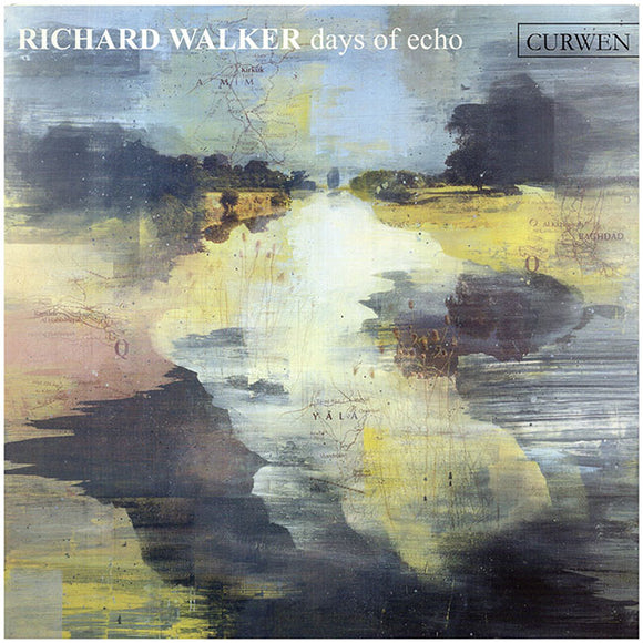 Cover. Richard Walker: Days of Echo (Curwin Gallery, London).
