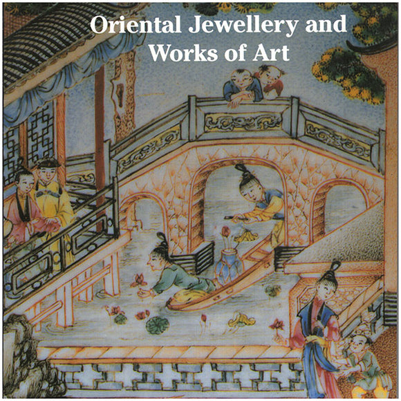 Book Cover. Oriental Jewellery and Works of Art.