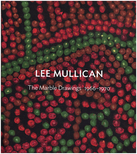 Book Cover. Lee Mullican: The Marble Drawings 1966-1970.