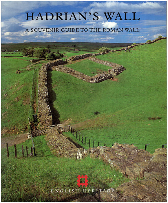 Book Cover. Hadrian's Wall: A Souvenir Guide to the Roman Wall.