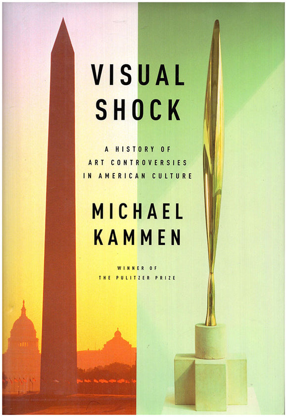 Book Cover. Visual Shock: A History of Art Controversies in American Culture.