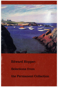 Edward Hopper: Selections From the Permanent Collection (1989 Exhibition Booklet, Whitney Museum of American Art) (3713)